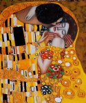 gustav klimt the kiss iv painting