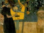 the music by gustav klimt painting
