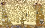 the tree of life by gustav klimt painting
