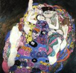 the virgin by gustav klimt painting