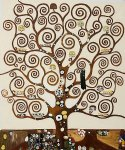 tree of life iii by gustav klimt painting