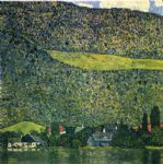 gustav klimt unterach am attersee oil paintings