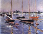 gustave caillebotte boats on the seine at argenteuil art