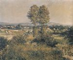 gustave caillebotte landscape at argenteuil painting 80122