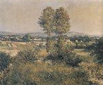 gustave caillebotte landscape at argenteuil painting 33040