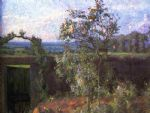 gustave caillebotte landscape near yerres paintings