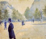place saint by gustave caillebotte painting