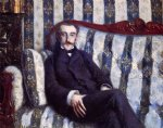 gustave caillebotte portrait of a man ii painting 33035
