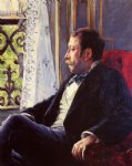 gustave caillebotte portrait of a man painting
