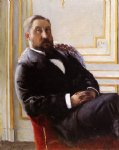 gustave caillebotte portrait of jules richemont painting 32941
