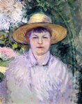 gustave caillebotte portrait of madame renoir painting 32944