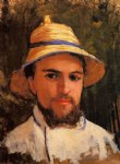 gustave caillebotte self portrait fragment painting 32959