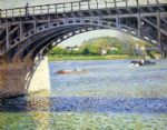 gustave caillebotte the argenteuil bridge and the seine art