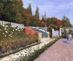 the gardener by gustave caillebotte posters