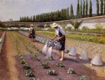 gustave caillebotte the gardeners paintings
