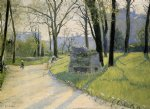 the parc monceau by gustave caillebotte painting