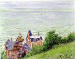 villas at trouville by gustave caillebotte posters