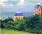 gustave caillebotte villas at villers sur mer paintings