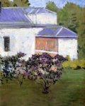 gustave caillebotte yerres part of the south facade of the casin painting