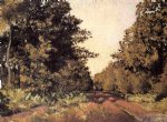 gustave caillebotte yerres woods at la grange path of the great ha paintings