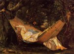 gustave courbet in the woods paintings