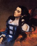 gustave courbet portrait of a spanish lady painting
