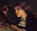 gustave courbet portrait of jo the beautiful irish girl painting 32776