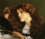 gustave courbet portrait of jo the beautiful irish woman paintings