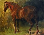 gustave courbet the english horse of m. duval painting 32800