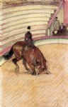 henri de toulouse lautrec at the circus dressage paintings