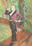 portrait paintings - portrait of m. samary by henri de toulouse lautrec
