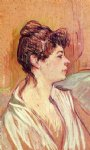 portrait paintings - portrait of marcelle by henri de toulouse lautrec