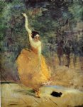 henri de toulouse lautrec the spanish dancer painting