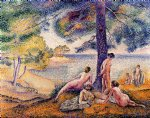 a place in the shade by henri edmond cross painting
