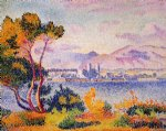 henri edmond cross antibes afternoon painting