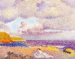 before the storm by henri edmond cross painting