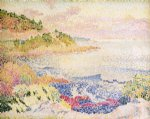 coast of provence le four des maures by henri edmond cross painting