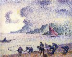 henri edmond cross fisherman painting