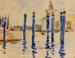 henri edmond cross la donana venice painting