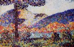 henri edmond cross landscape ii painting