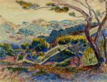 henri edmond cross landscape iv painting 32403