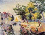 henri edmond cross ponte san trovaso painting