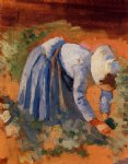 henri edmond cross study for the grape pickers ii painting