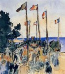 henri edmond cross the fourth of july by the sea prints