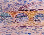 henri edmond cross the viaduct painting