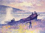 henri edmond cross the wreck painting