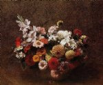 henri fantin latour bouquet of flowers painting 32359