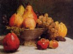 bowl of fruit by henri fantin latour painting