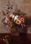 diverse flowers by henri fantin latour paintings