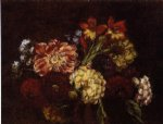 henri fantin latour flowers dahlias and gladiolas painting 32214